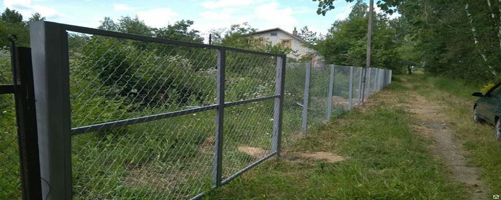 Забор в Спб