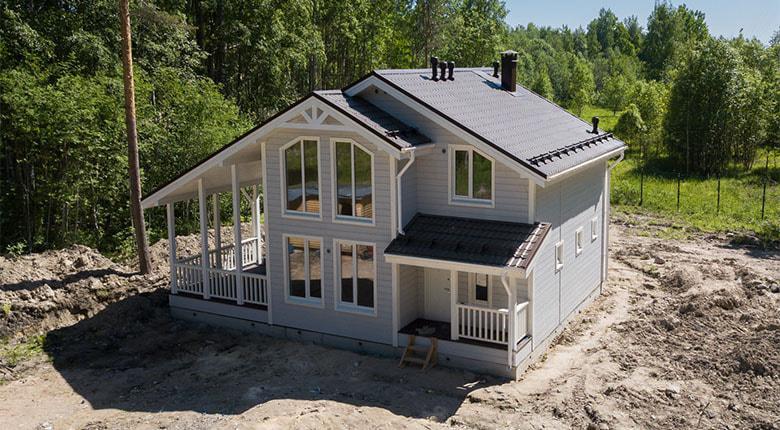 Каркасный дом в Спб