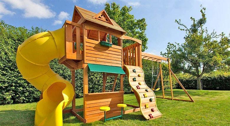 Детская площадка установка с гарантией