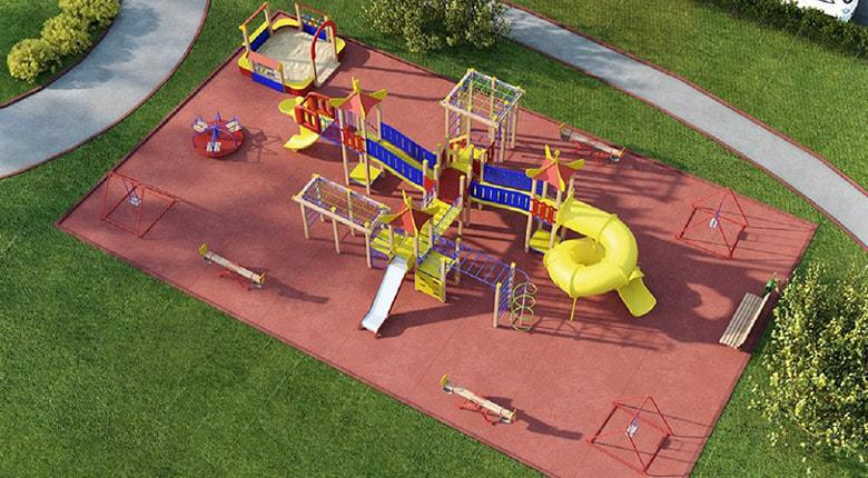 Детская площадка установка