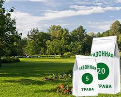 Газон для парков
