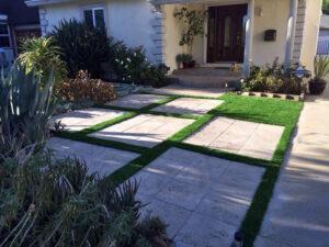 Минимализм садовый участок
